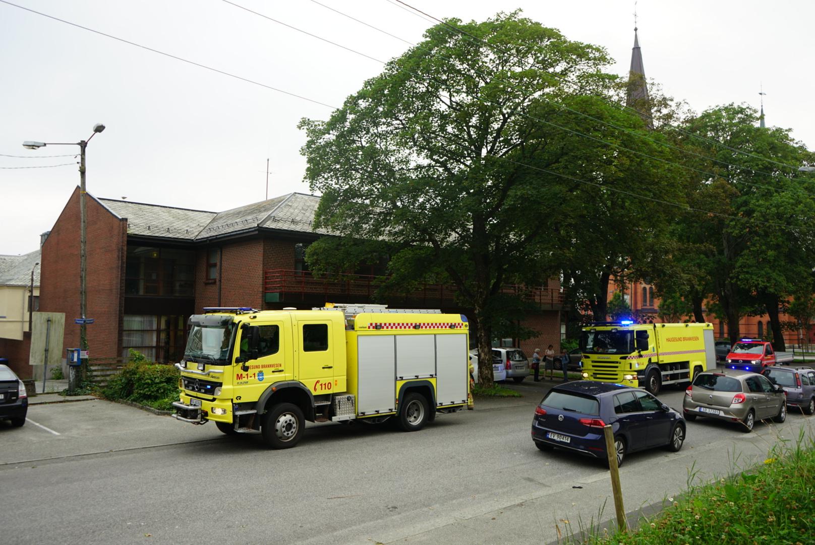 Røykutvikling i menighetshuset