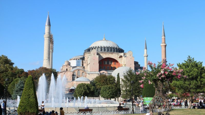 Hagia Sofia – der muslimsk og kristen billedkunst møtes.