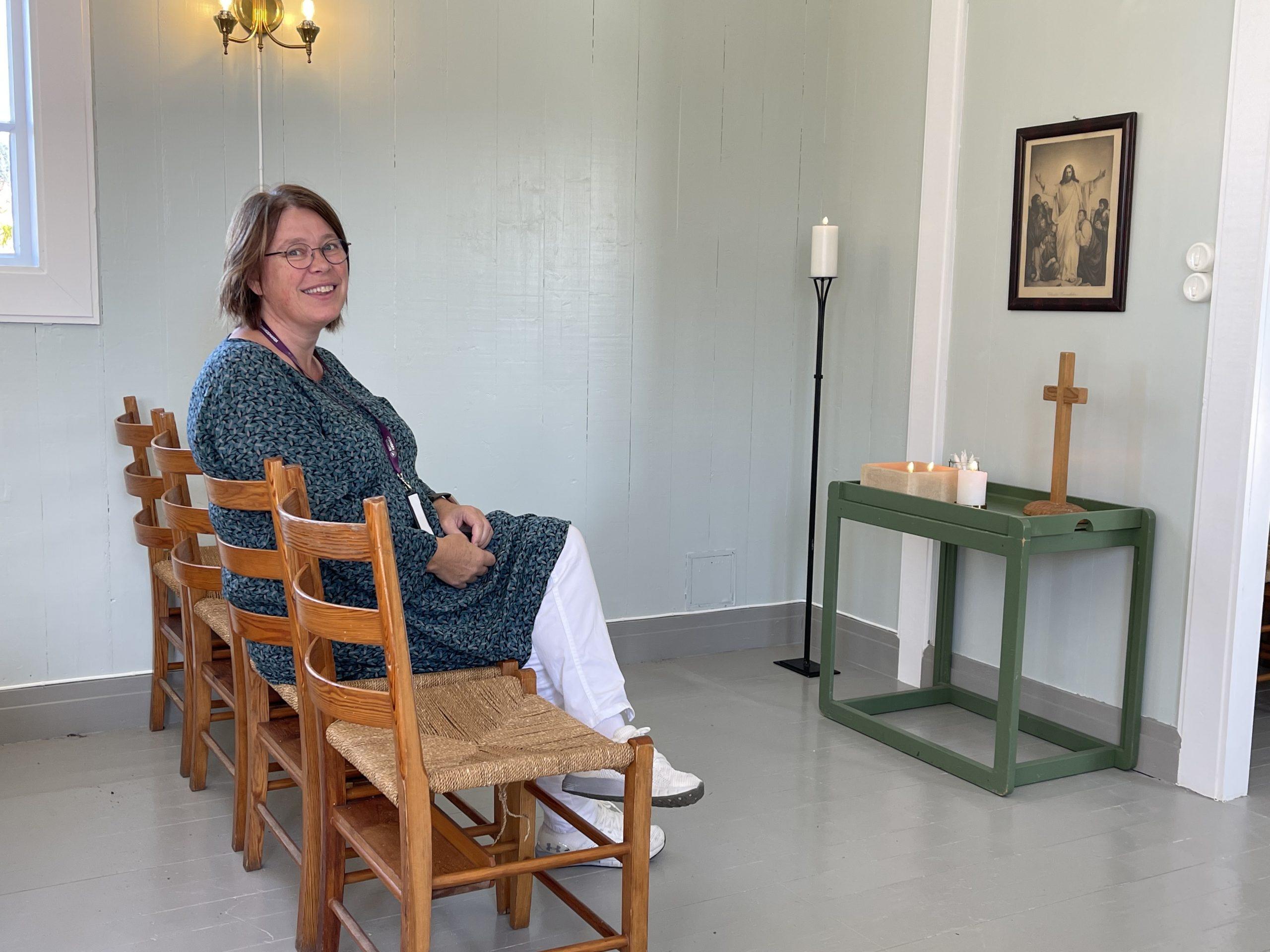 Åpent kapell på Udland