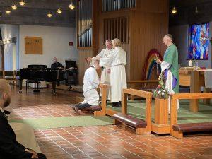 Konfirmasjon i Rossabø kirke